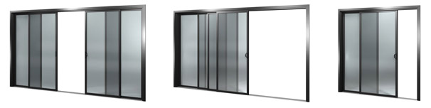 diamond sliding door options